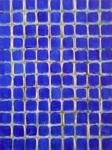 Ann Thornycroft, Blue Grid, 2011