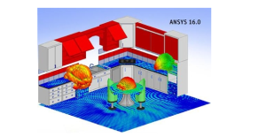 ANSYS 16.0 was released with major improvements and new capabilities for CFD. Image from ANSYS. Click images for article.