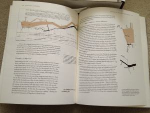 Beautiful Evidence, 2006. Tufte loves the graphic shown on these pages illustrating Napolean's march to and from Moscow.