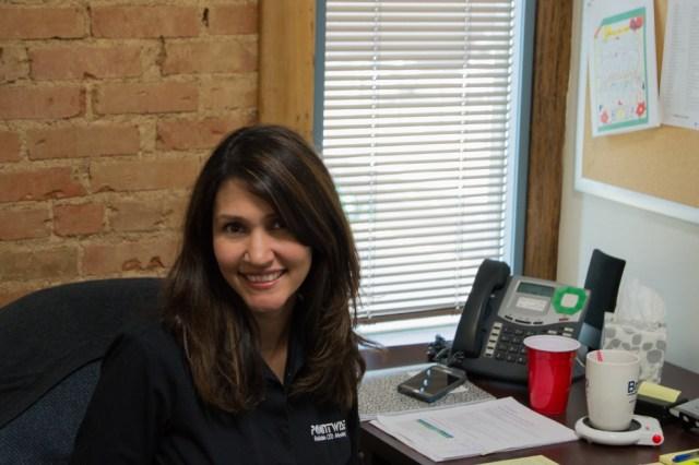 Andrea Alvarado, Marketing Assistant on the Sales & Marketing Team.