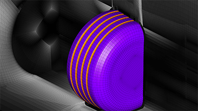Tessa Uroić's winning image of a mesh for a Formula 1 tire. See link above.
