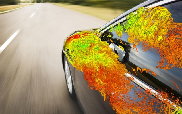 Fluctuating surface pressure from an automotive simulation using OpenFOAM. This beautiful image is from ESI. See link above.