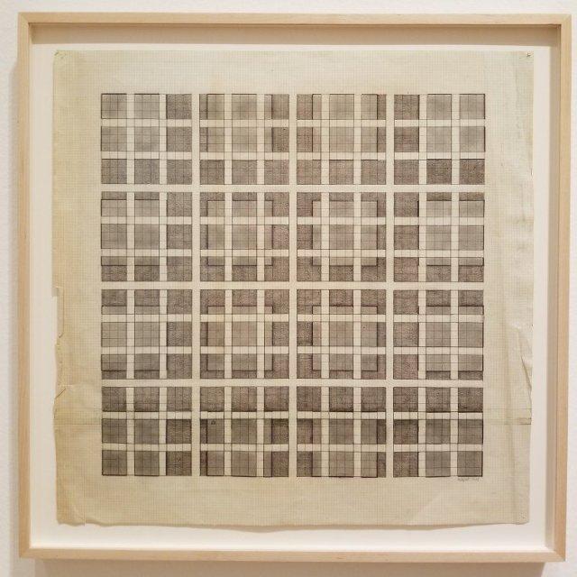 Adrian-Piper-Sixteen-Permutations-1968