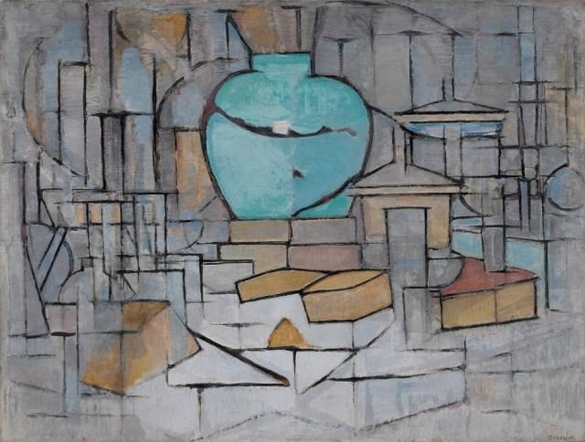 Mondrian-still-life