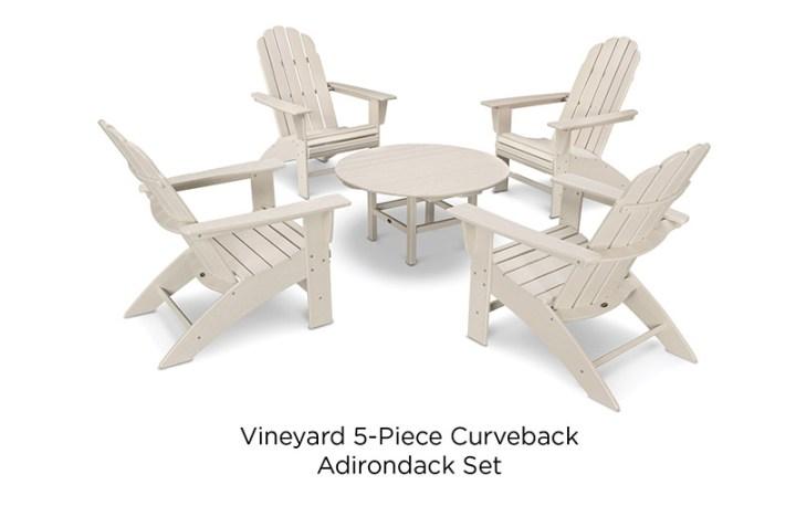 POLYWOOD-Vineyard-5-Piece-Curveback-Adirondack-Set