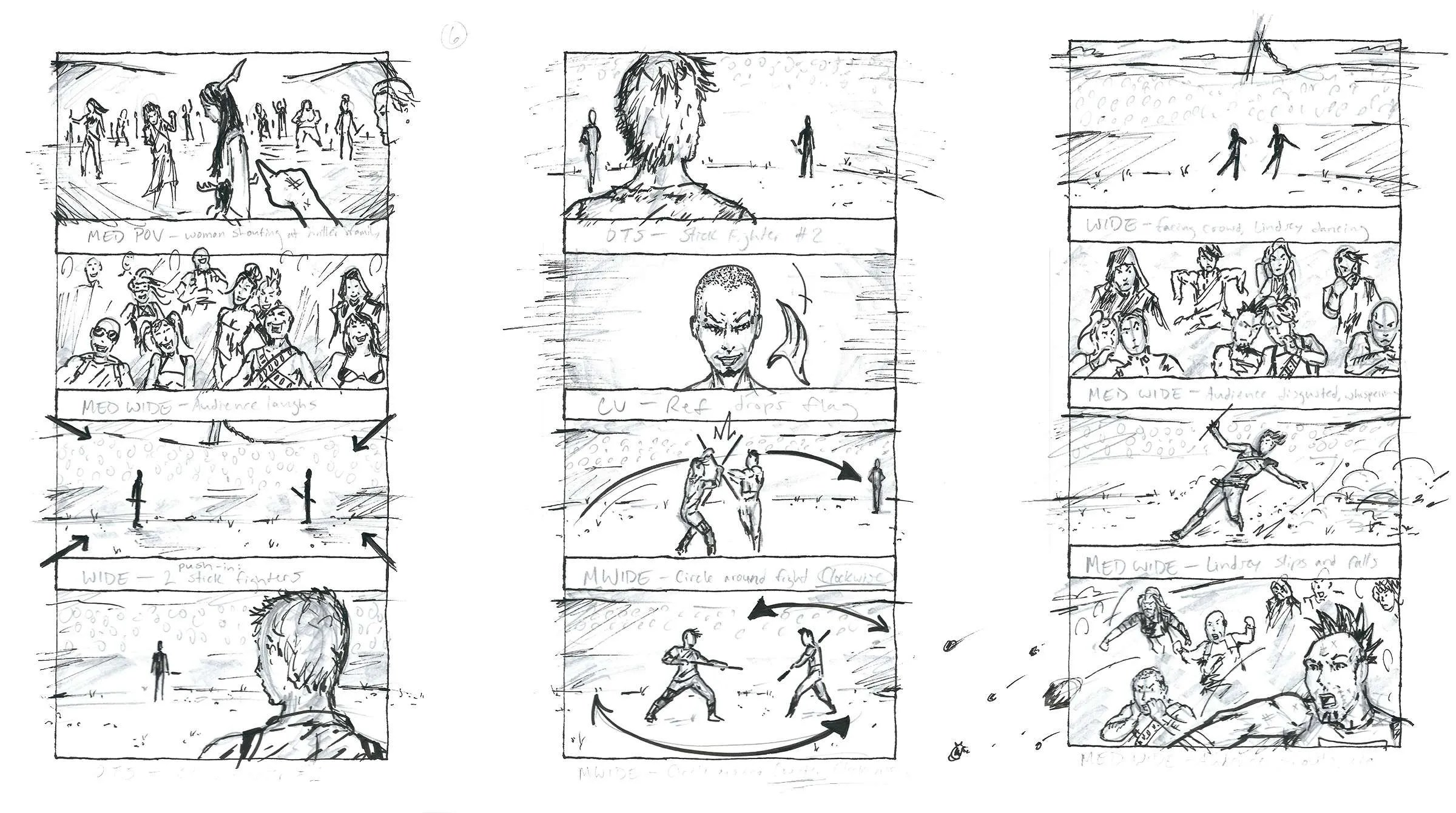Something Sketchy A Beginner S Guide To Storyboarding