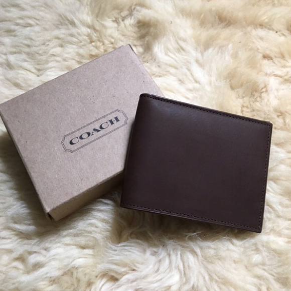NEW Men's Coach Wallets