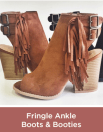 Fringe Ankle Boots and Booties