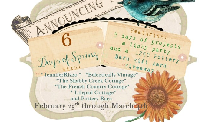 6 days of spring banner 1500
