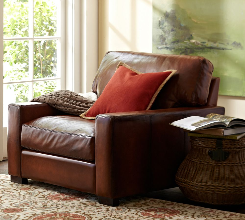 Pottery Barn Turner Leather Sofa Reviews You Inpiration