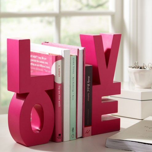 Love Desk Bookend Accessories