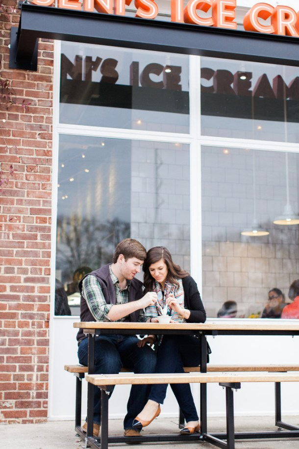 Ashton Amp Liz S Atlanta Engagement Pottery Barn