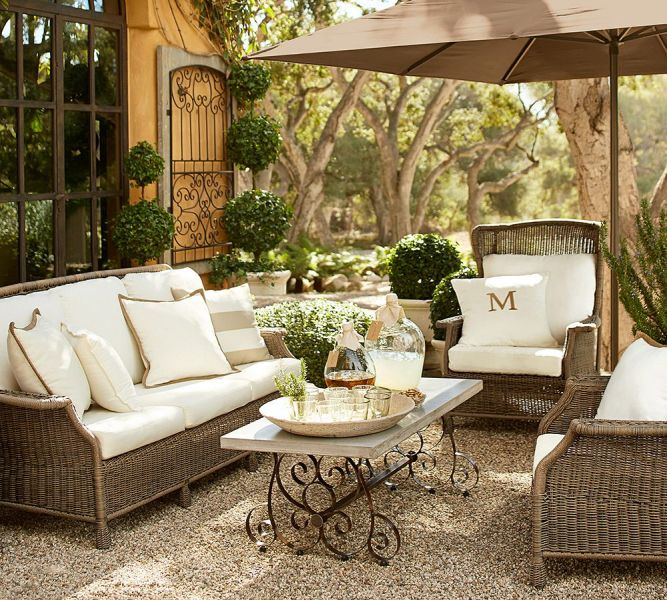 How to Take Care of Wicker Outdoor Furniture all weather wicker 1