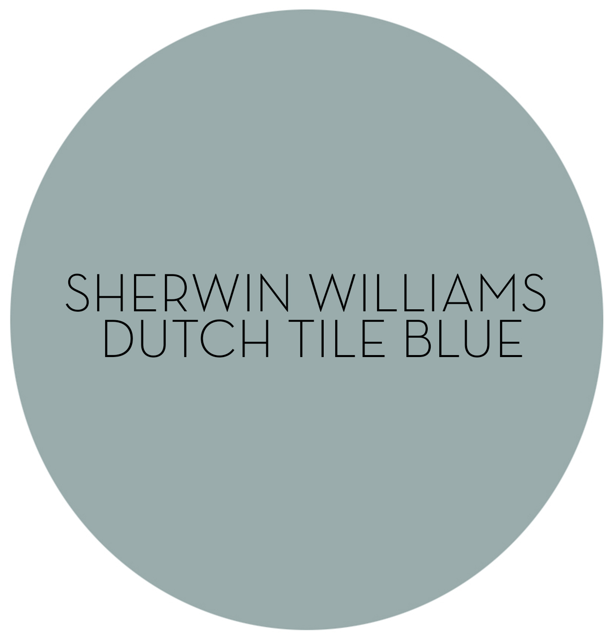 How To Decorate With Sherwin Williams Paints Dutch Tile Blue