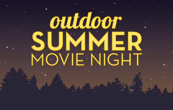 Outdoor Summer Movie Night Pottery Barn