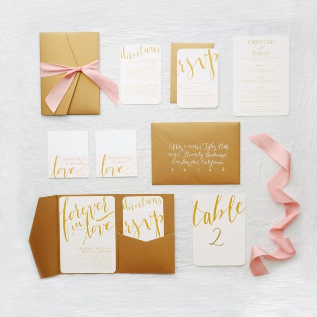 How to Design Your Wedding Invitation Suite