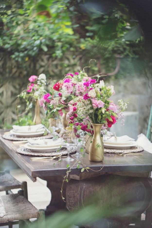 A Secret Garden Inspirational Dinner Shoot in Florida