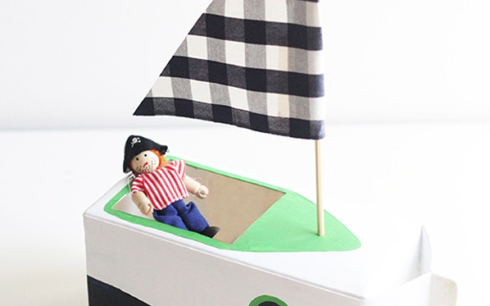 A Diy Milk Carton Boat