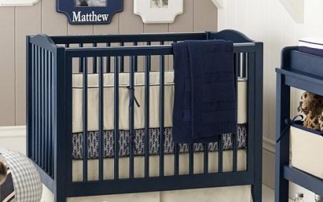 Mini Crib Linen Nursery Bedding