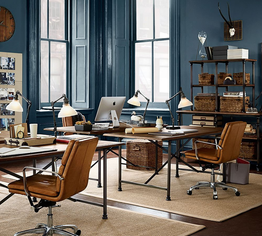 Pottery Barn Office: 10 Decorating And Design Ideas From Pottery Barn's Fall