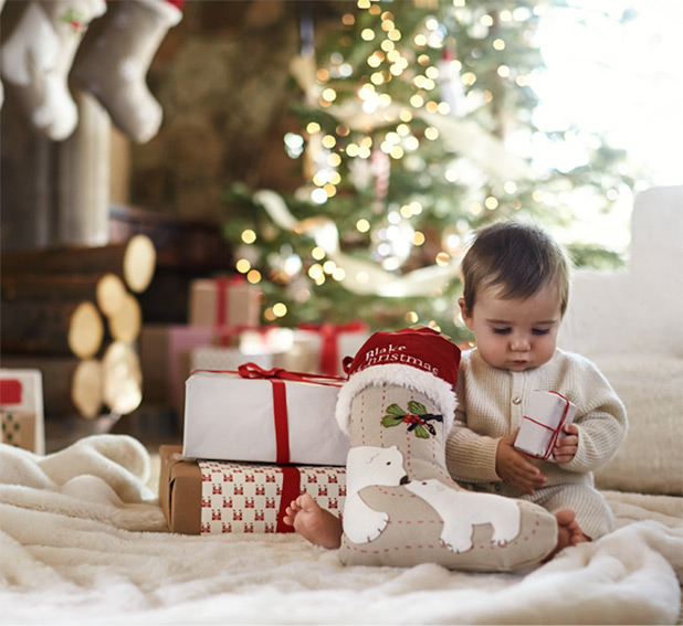 Tips for Celebrating Baby's First Christmas | Building Blocks Blog