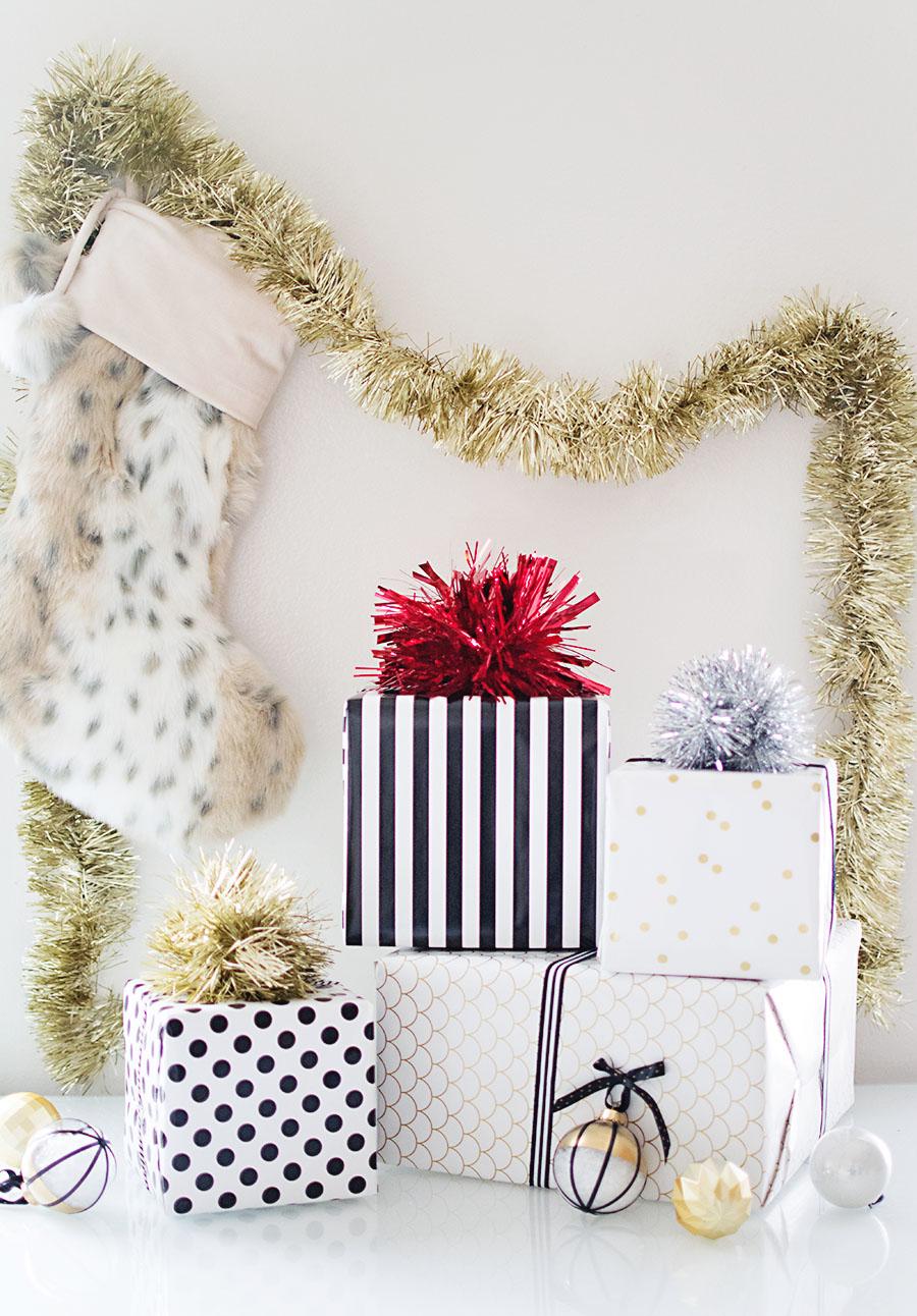 DIY-Tinsel-Pom-Pom-gift-toppers2