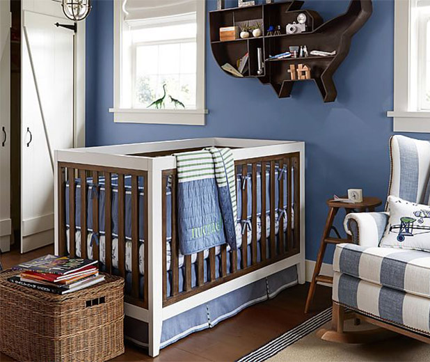 Craftsman Style in this Rustic Nursery | 8 Nursery Trends for the New Year