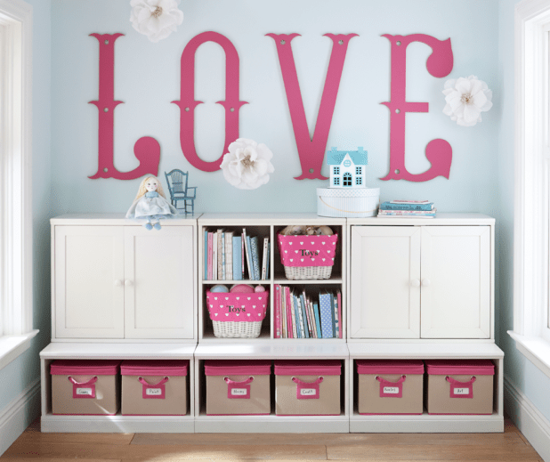 Low Storage in White   6 Stylish Storage Ideas for the New Year