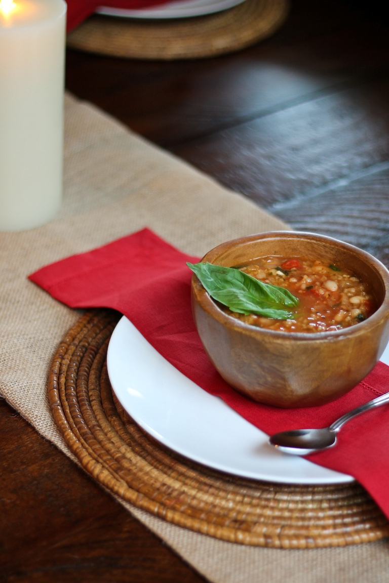 White Bean Tomato Soup 2
