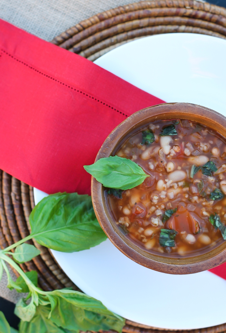 White Bean Tomato Soup 5