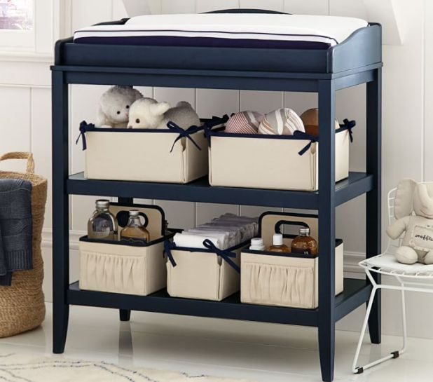 Vary Shapes and Sizes for Storage Bins | 6 Stylish Storage Ideas for the New Year