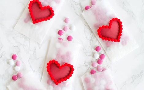 DIY-Valentines-Day-Heart-Pom-Pom-Treat-Bags1