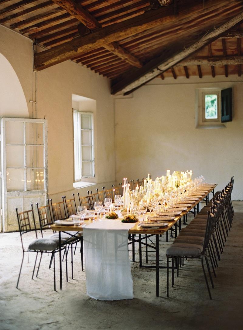 Rustic Elegant Table Wedding
