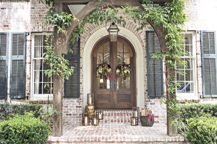 A Fabulous Front Door For Fall