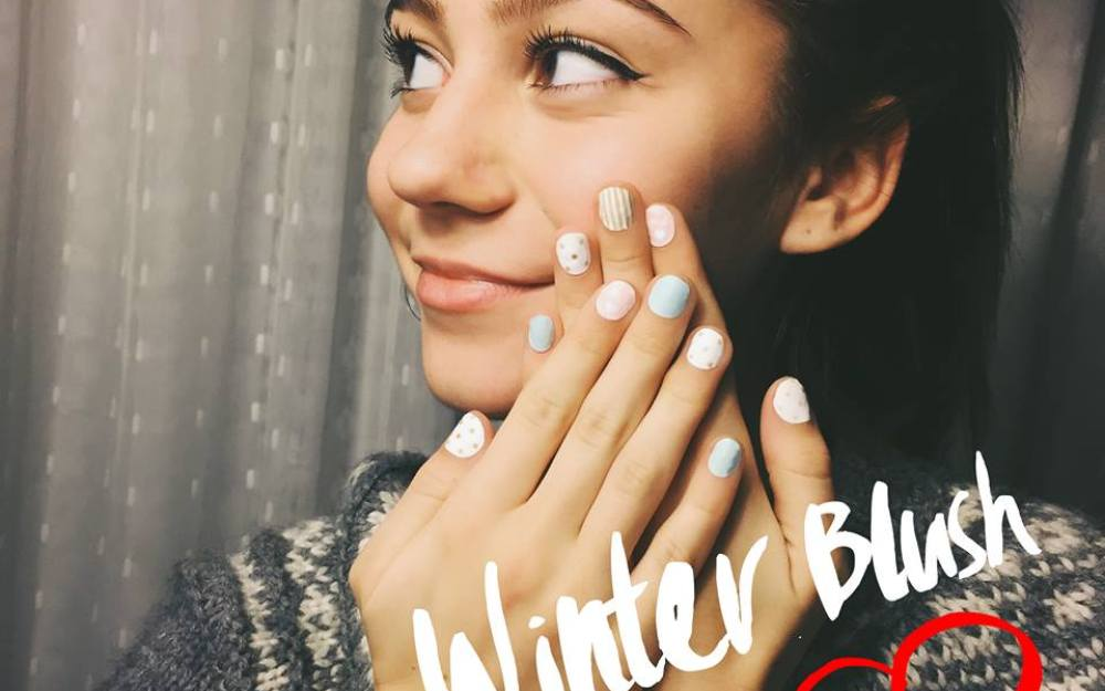 G Hannelius Make Me Nails Pbteen