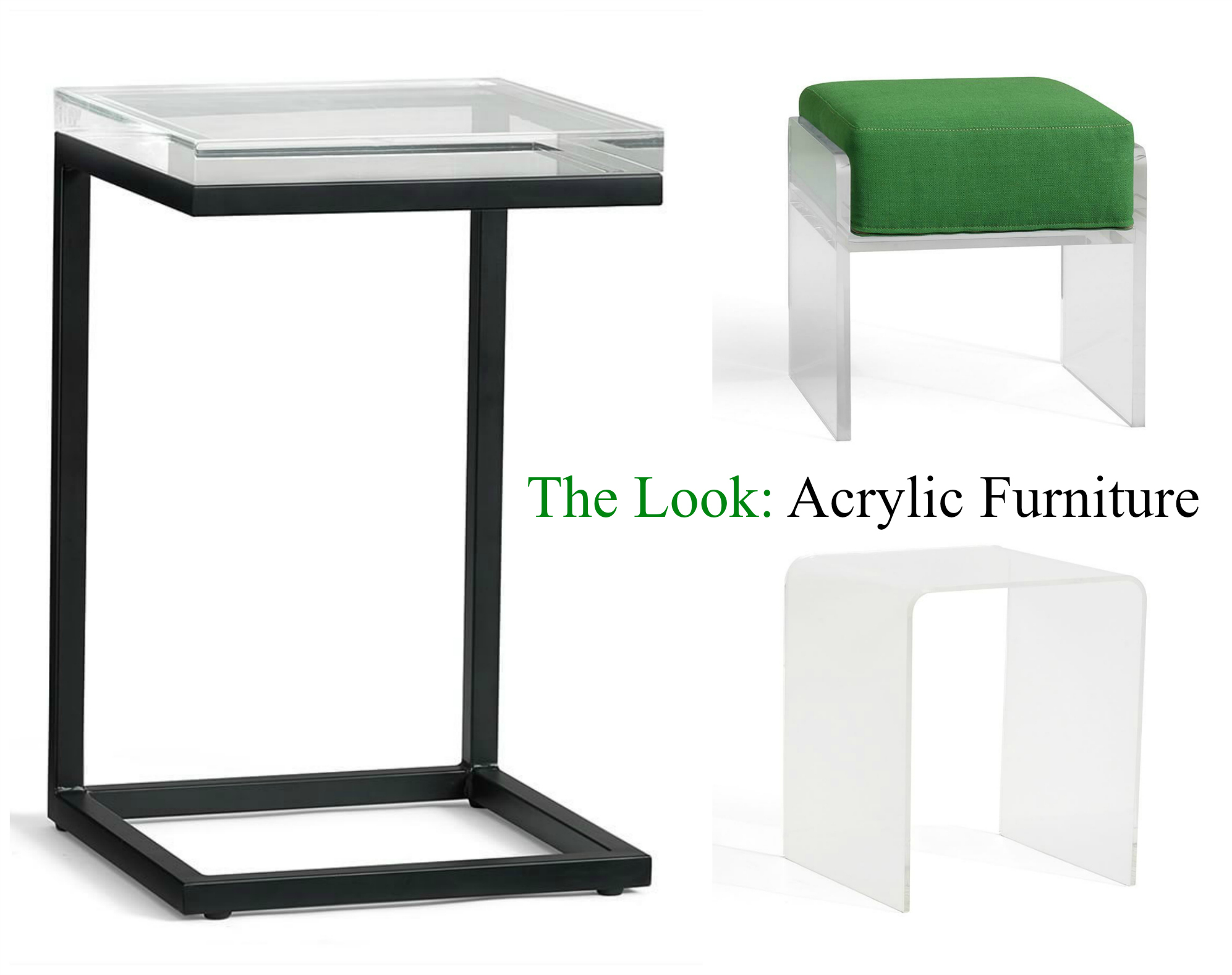 All You Need To Know About Acrylic Furniture Accessories Pottery