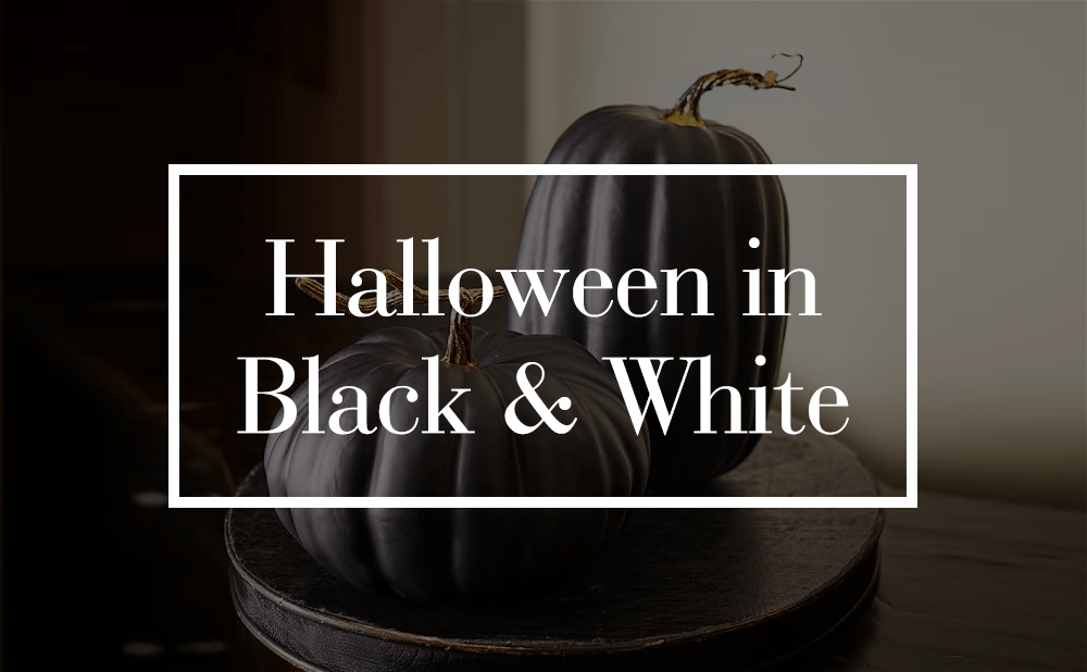 Black & White Halloween