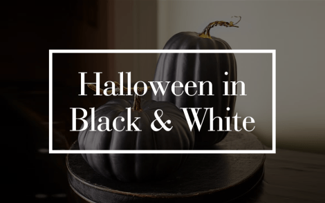 Black & White Halloween