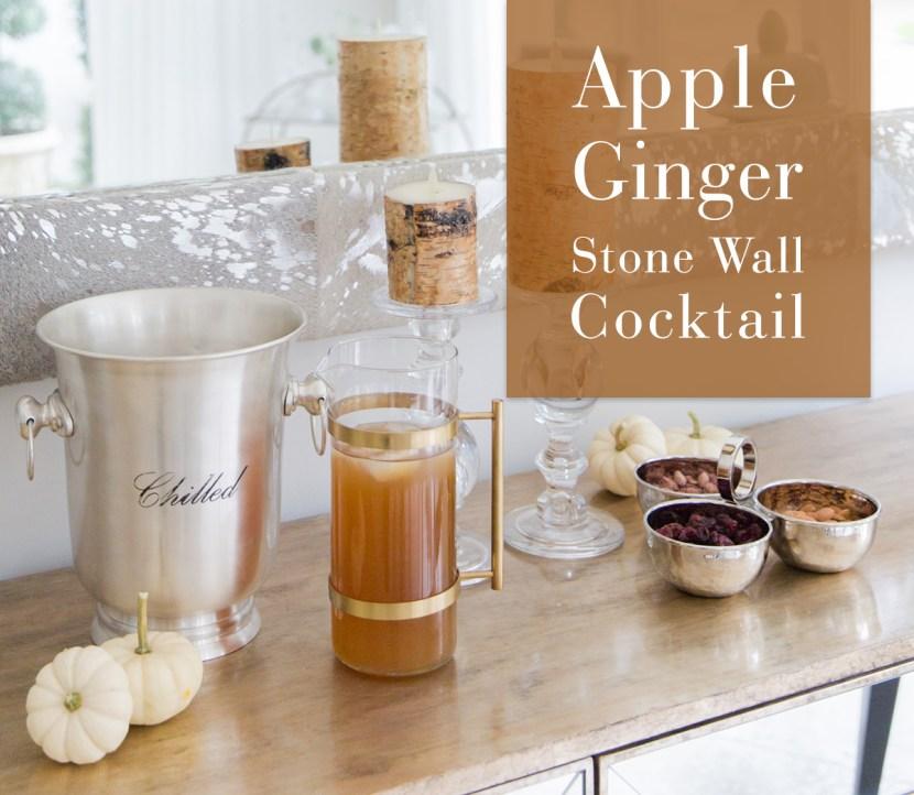 Apple Ginger Cocktail