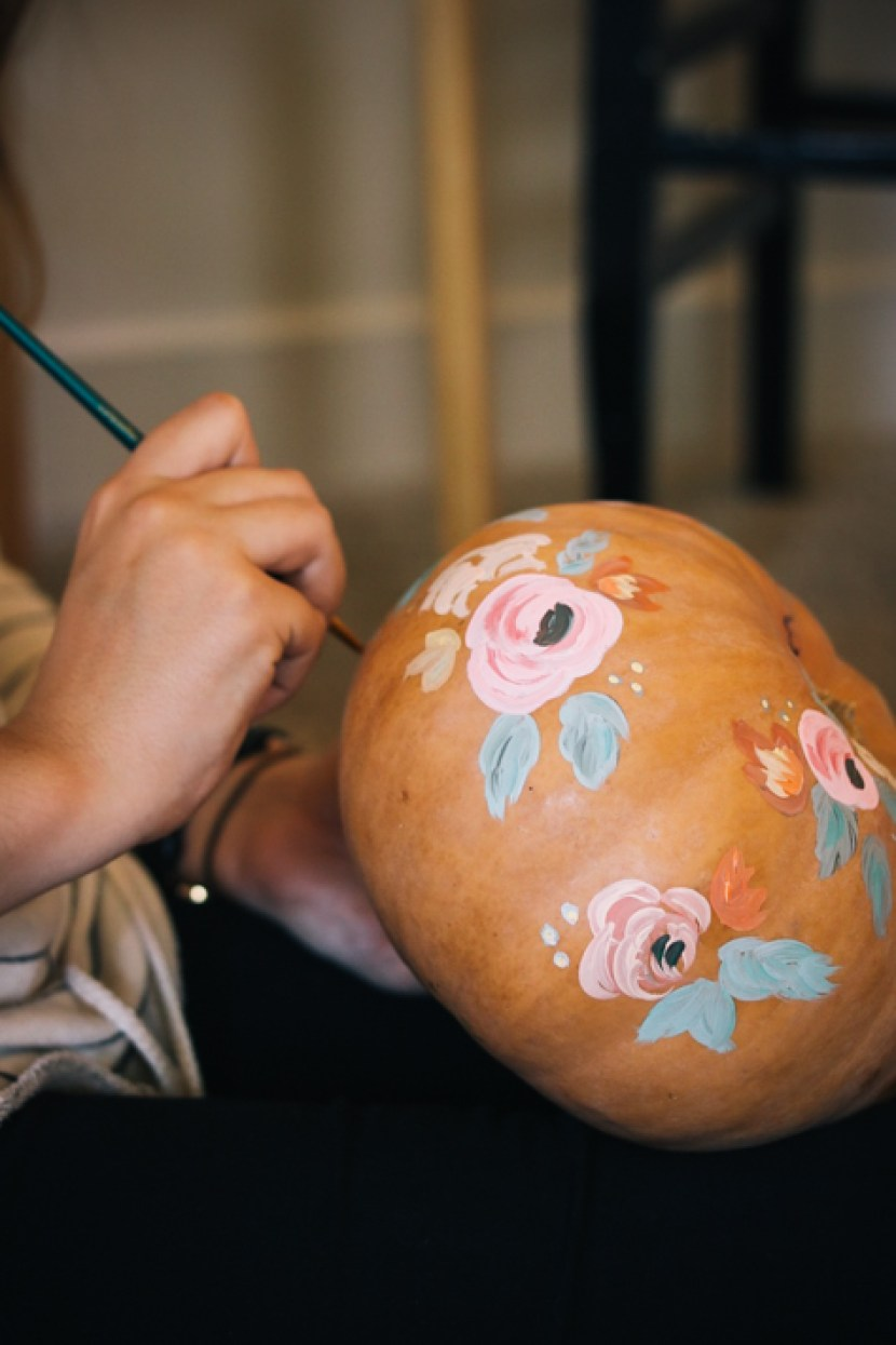 Diy Acrylic Pumpkin Designs For Halloween Pottery Barn