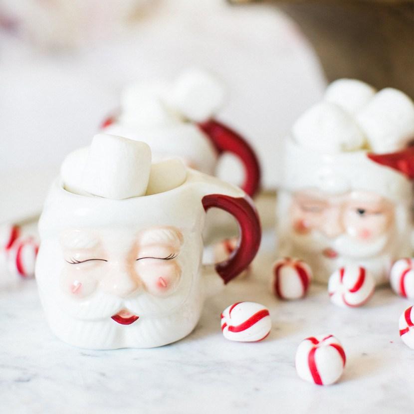 Hot Santa Claus Cocoa Sipper