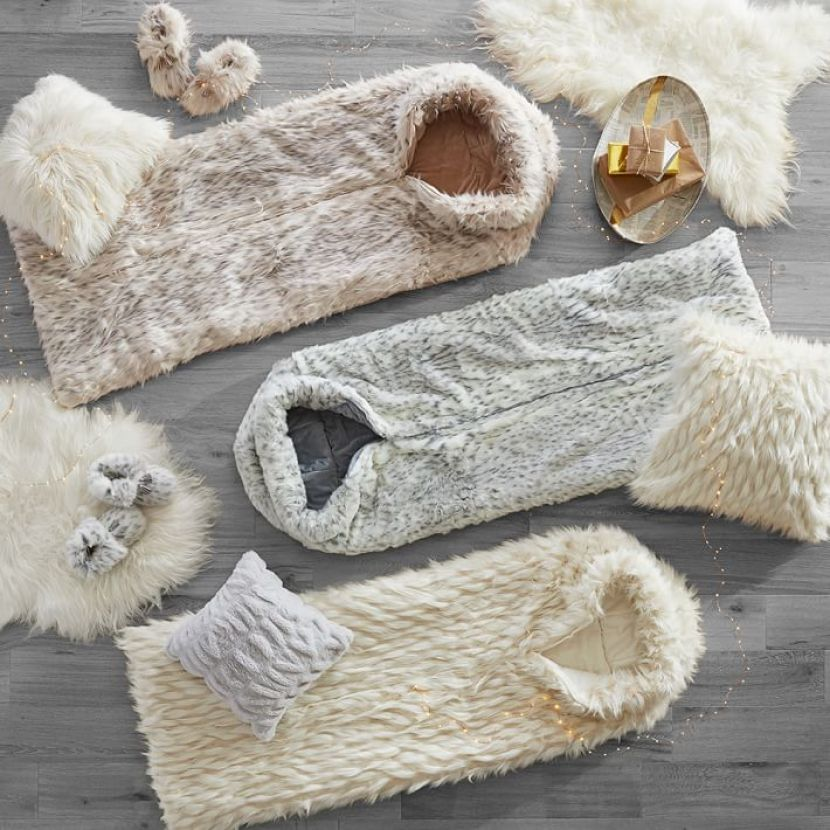 faux-fur-sleeping-bag-winter-fox-o