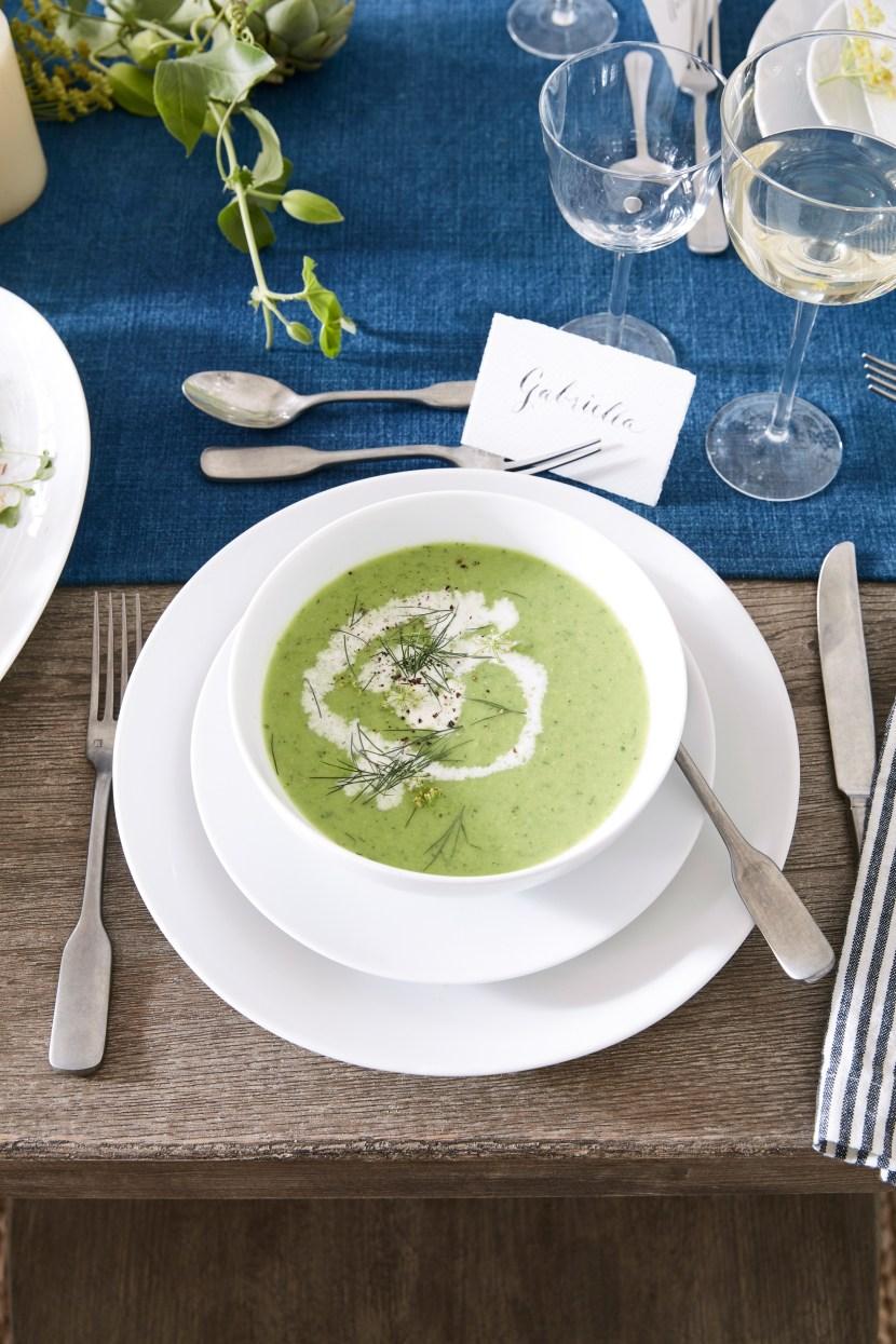 Recipe Athena Calderone S Zucchini And Avocado Soup