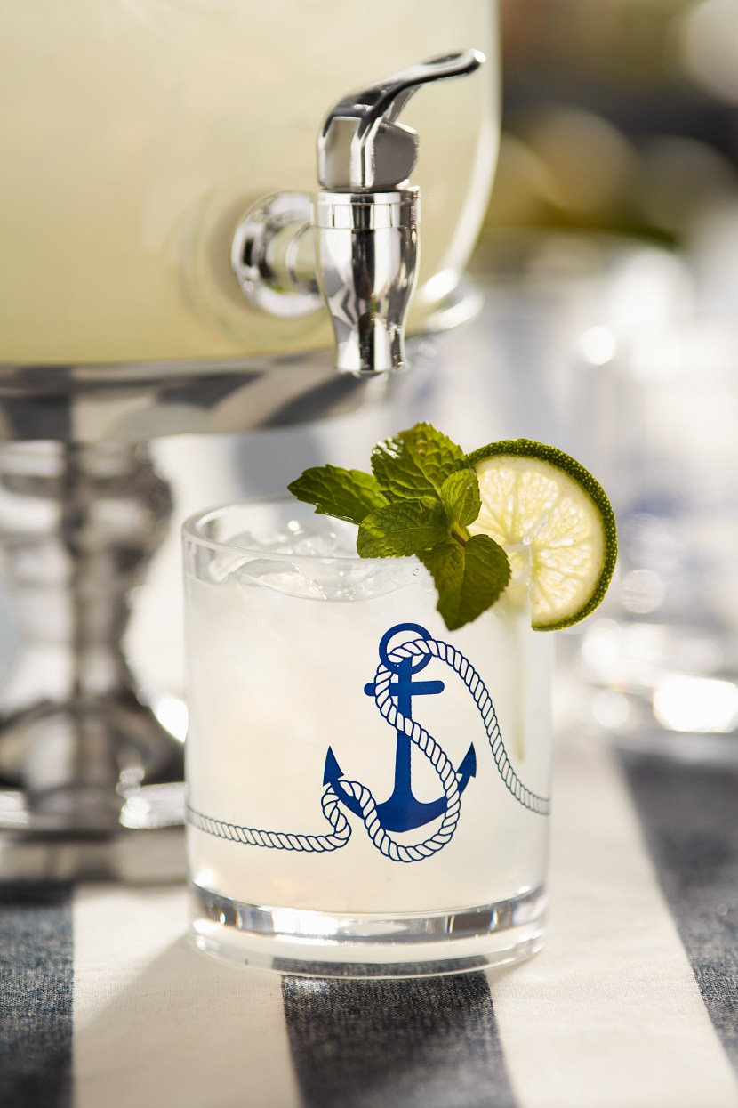 Quench Your Thirst With The Mint Limeade From Our Lobster