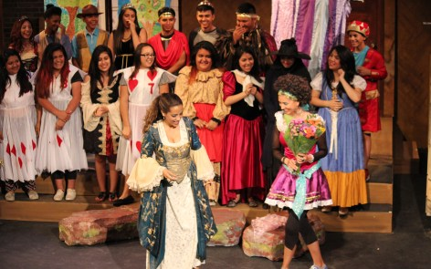 Last year's workshop culminated in a teen-produced theater production.
