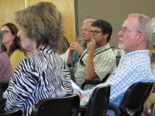Participants listen to ideas