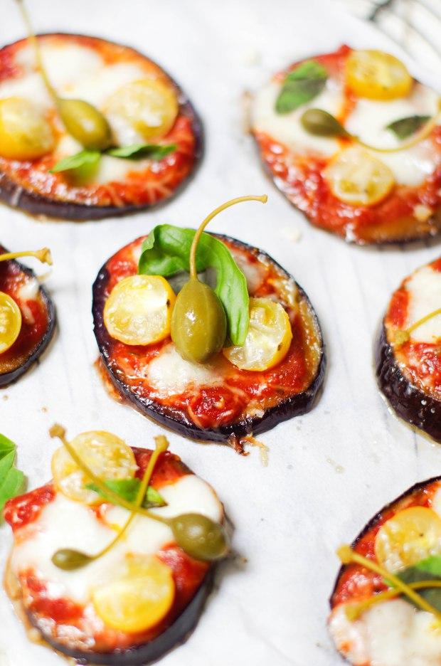 pizza aubergines