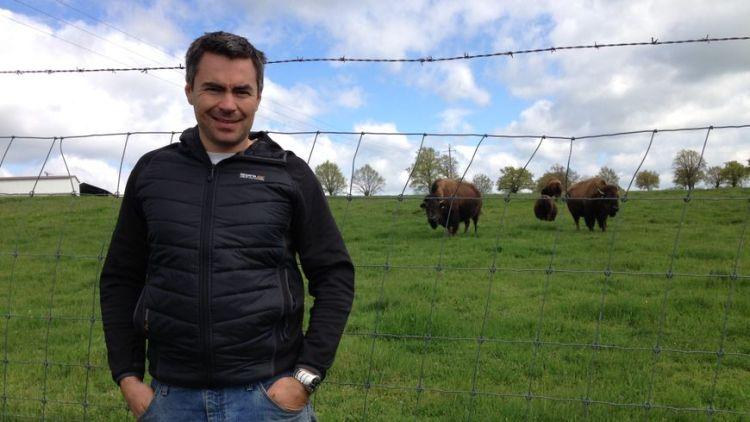 Bisons d'Auvergne, rencontre avec Matthieu
