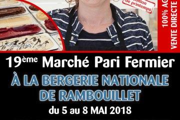 PARI FERMIER BERGERIE NATIONALE DE RAMBOUILLET MAI 2018