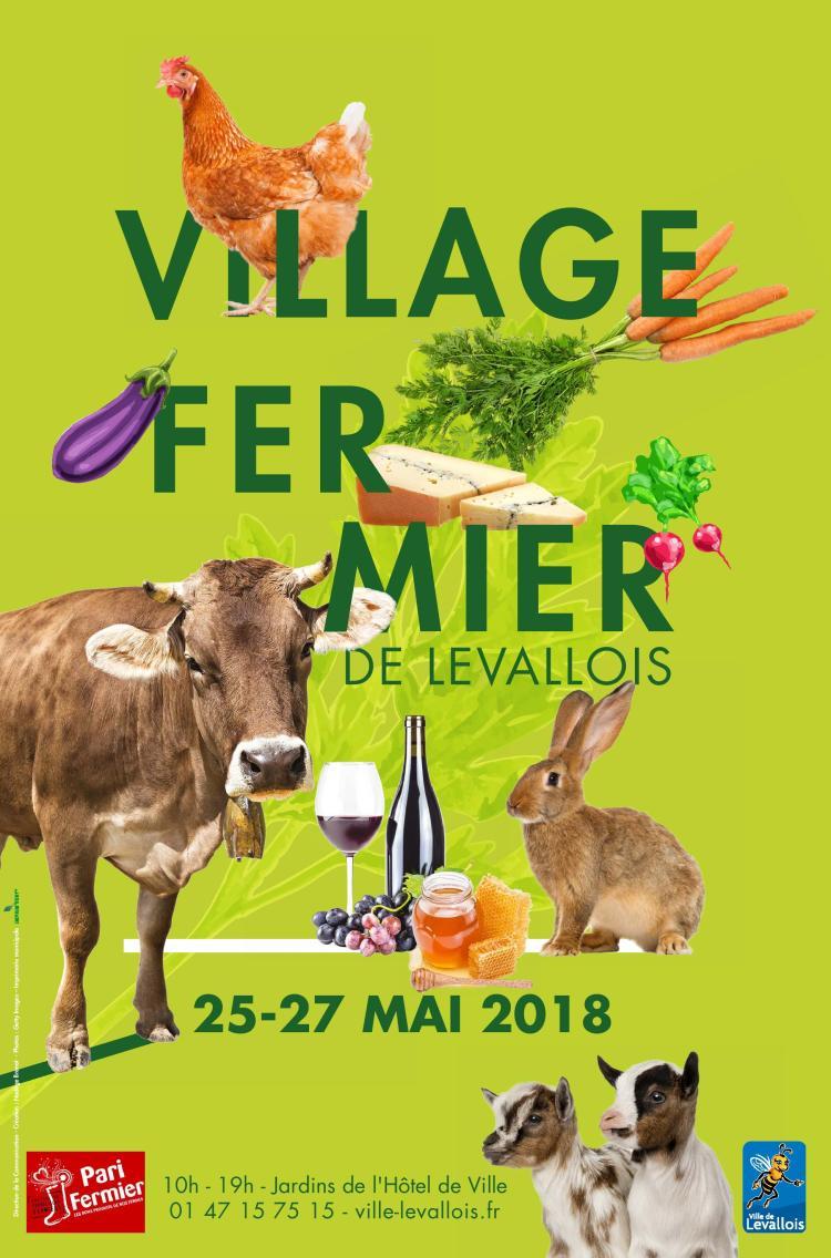 Village Fermier de Levallois avec Pari Fermier du 25 au 27 mai